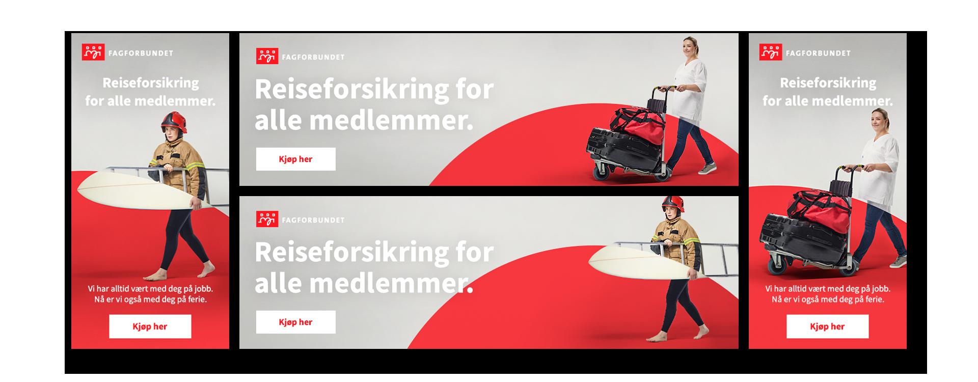 fagforbundet bannere